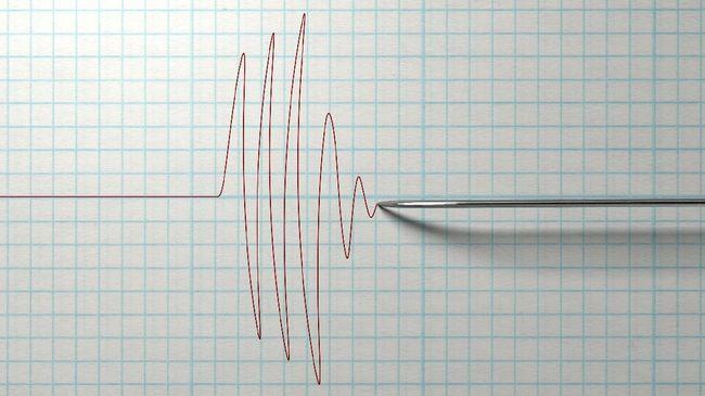 Gempa 6,4 SR di Bali, Satu Pura Rusak