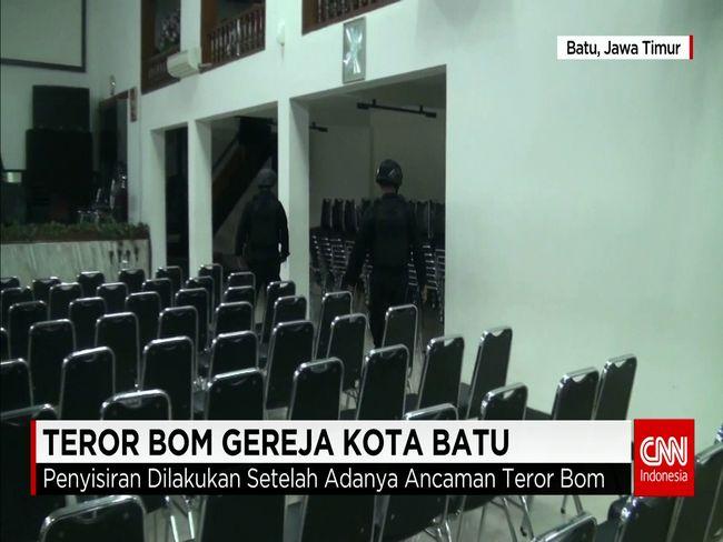 CNN Indonesia Detail: Teror Bom Gereja Di Kota Batu