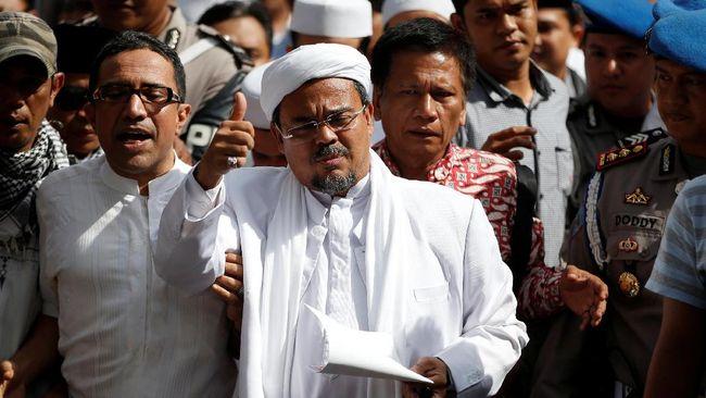 Rizieq Shihab Melobi DPR untuk Bertemu Raja Salman