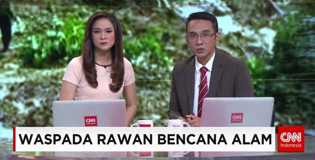 CNN Indonesia Detail: Waspada Rawan Bencana Alam