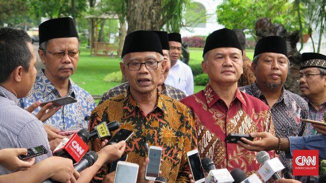 Muhammadiyah Imbau Masyarakat Tak Ikut Aksi 212