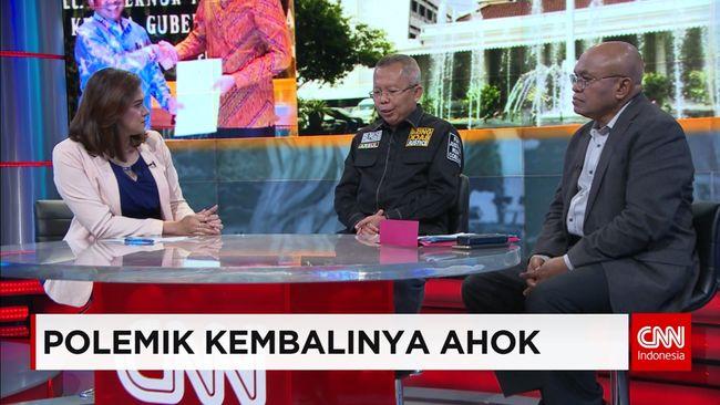 CNN Indonesia Detail: Kontroversi Pengaktifan Kembali Ahok