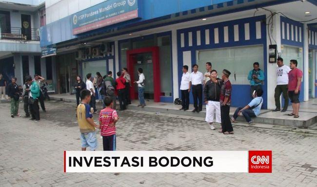 CNN Indonesia Detail: INVESTASI BODONG