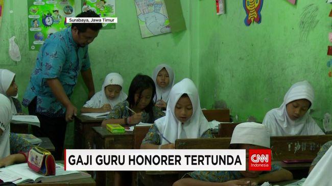 CNN Indonesia Detail: Gaji Guru Honorer Tertunda