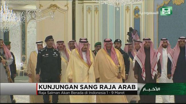 CNN Indonesia Detail: Kedatangan Sang Raja Arab Saudi
