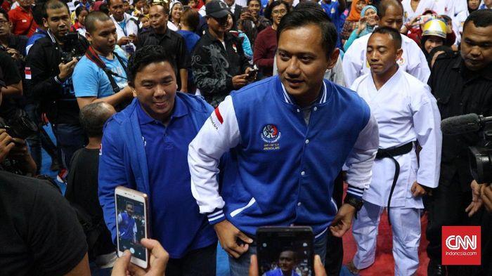 Agus Harimurti Yudhoyono. (CNN Indonesia/Aulia Bintang Pratama)