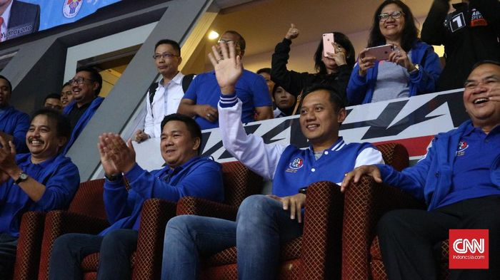Agus Harimurti Yudhoyono belum menentukan pilihan dukungan di putaran kedua. (CNN Indonesia/Aulia Bintang Pratama)