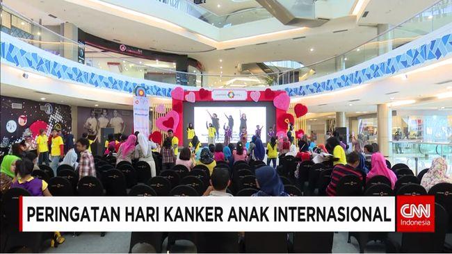 CNN Indonesia Detail: Peringatan Hari Kanker Anak Internasional