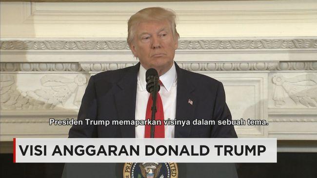 CNN Indonesia Detail: Target Anggaran Donald Trump