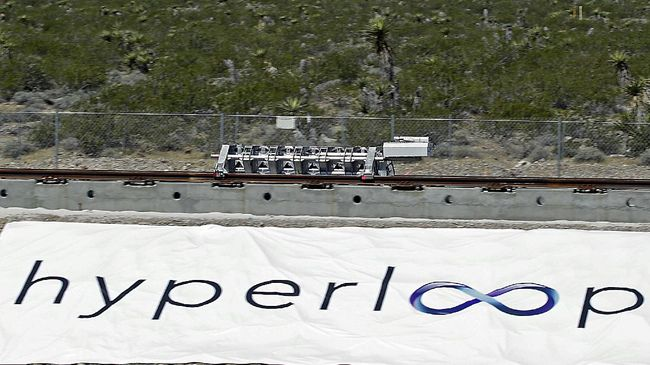 Hyperloop Siap Bangun Transportasi Tercepat di Indonesia