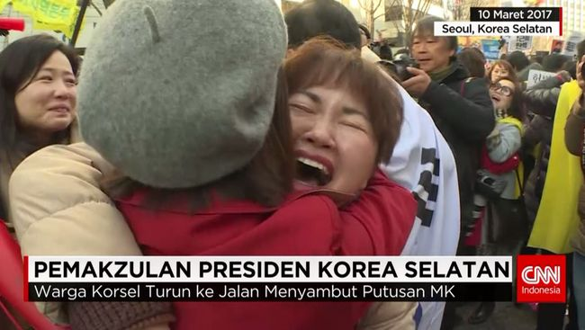 CNN Indonesia Detail: Pemakzulan Presiden Korea Selatan