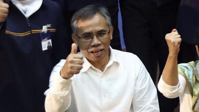 DPR Dapuk Wimboh jadi Ketua - Jakarta CNN Indonesia Komisi XI Dewan Perwakilan Rakyat memutuskan Wimboh Santoso lolos uji kelayakan dan kepatutan and proper