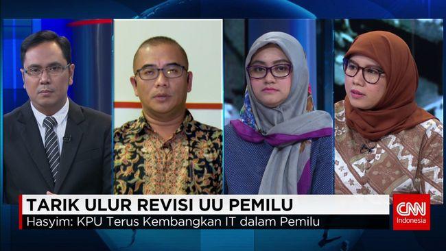 CNN Indonesia Detail: Penerapan E-Voting Dalam Sistem Pemilu RI