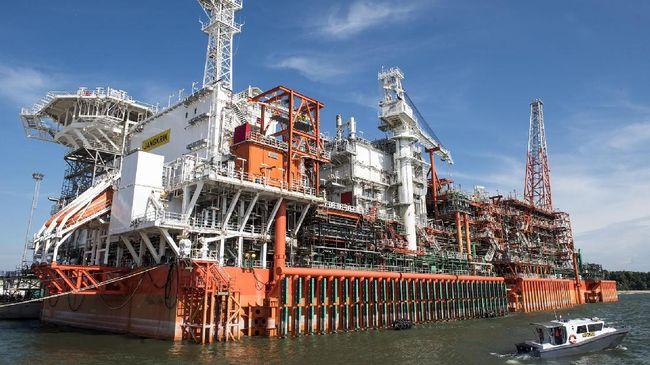 Proyek Gas Laut Dalam Jangkrik Beroperasi Lebih Cepat