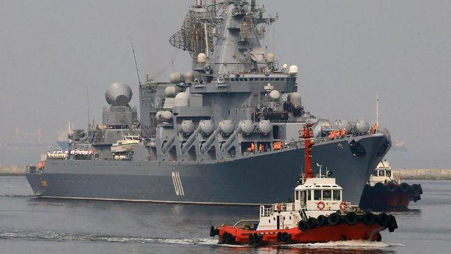 Kapal Perang Rusia Merapat ke Manila, Duterte Bahagia