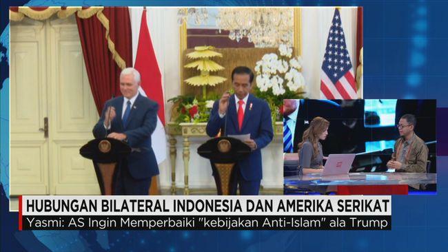 CNN Indonesia Detail: Kedatangan Wapres AS Dan Hubungan Bilateral Indonesia-AS