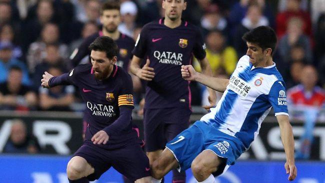 Menang Derby Katalonia, Barca Rebut Puncak Klasemen