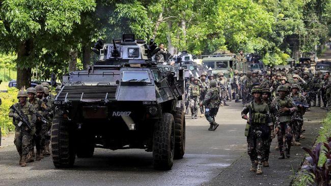 Filipina Yakin Konflik Marawi Berakhir dalam Dua Minggu