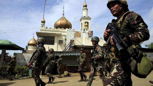 Filipina Klaim Kepung Militan di Marawi