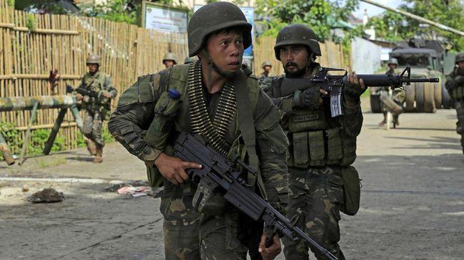 Filipina Tegaskan Tak Akan Bernegosiasi dengan Maute