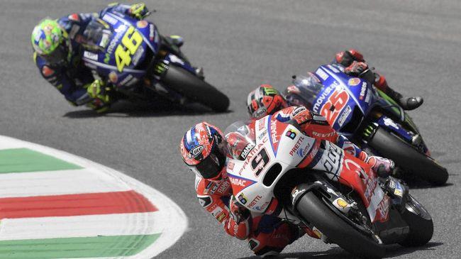 Petrucci: Saya Minta Maaf ke Valentino Rossi