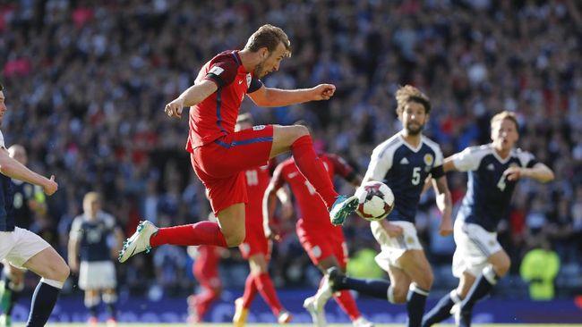 Kane Selamatkan Inggris dari Kekalahan - Jakarta CNN Indonesia Tim nasional Skotlandia dan Inggris harus berbagi angka pada laga tandang lanjutan kualifikasi Piala Dunia