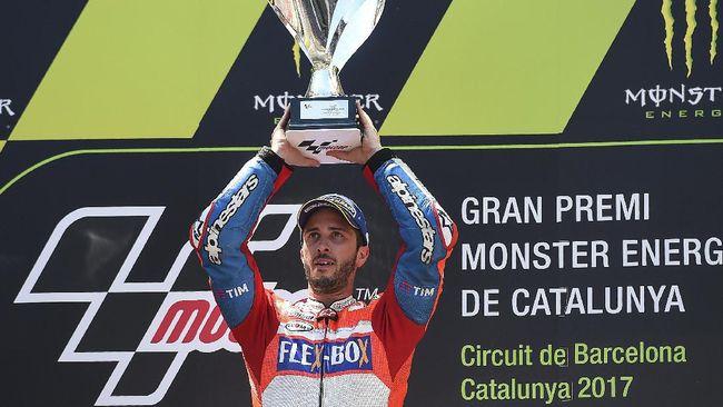 Fakta Menarik Usai Dovizioso Menang MotoGP Katalonia