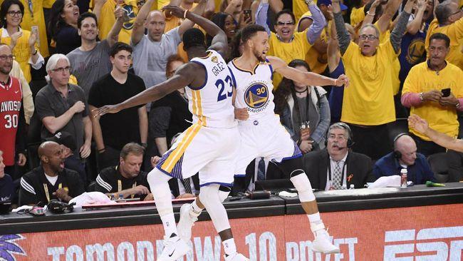 Warriors Juara NBA Usai Menang di Gim Ke-5