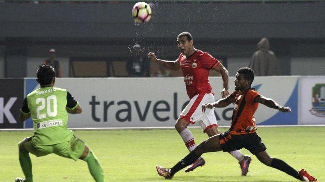 Persija vs Persipura Imbang di - Jakarta CNN Indonesia Persija Jakarta menghadapi perlawanan sengit dari Persipura Jayapura di Stadion Patriot Sabtu Meski saling kedua