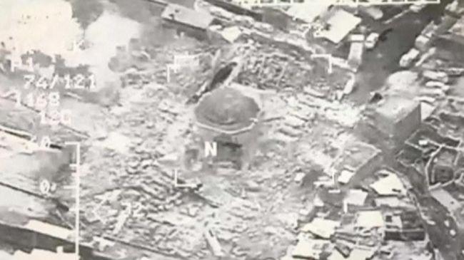 Kemarahan Warga setelah ISIS Hancurkan Masjid Al-Nuri