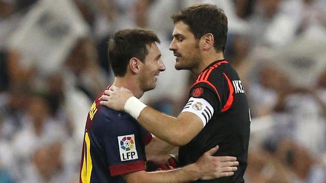 Casillas Nyaris Tertipu Lionel Messi KW