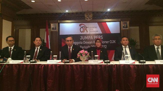 Rapat DK OJK Baru Tunjuk - Jakarta CNN Indonesia Rapat perdana Dewan Komisioner Otoritas Jasa Keuangan periode menunjuk Nurhaida sebagai wakil Wimboh di kursi