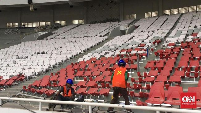 Kapasitas Stadion GBK Berkurang Usai - Jakarta CNN Indonesia Stadion Utama Gelora Bung Karno berkurang kursi usai mengalami renovasi untuk ajang Asian Games kapasitas