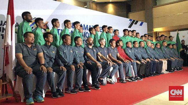 Alasan Gian Zola dan Hamdi - Jakarta CNN Indonesia Timnas Indonesia Luis Milla telah menetapkan skuat yang akan dibawa ke SEA Games Sebanyak empat
