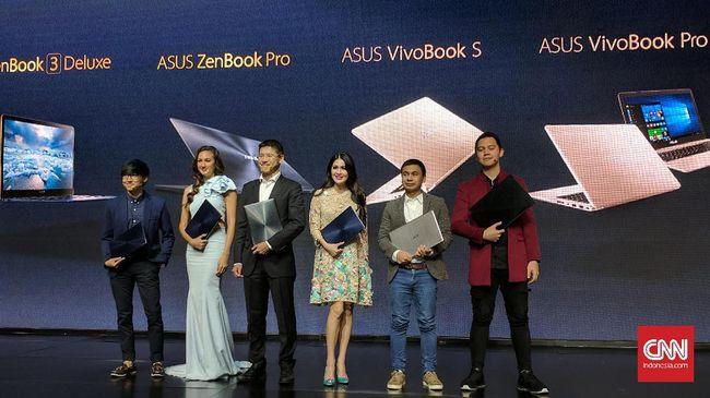 Asus Gelontorkan Enam Laptop Premium - Jakarta CNN Indonesia menegaskan dominasinya di pasar laptop Indonesia dengan menggelontorkan enam produk Semua laptop baru Asus ini