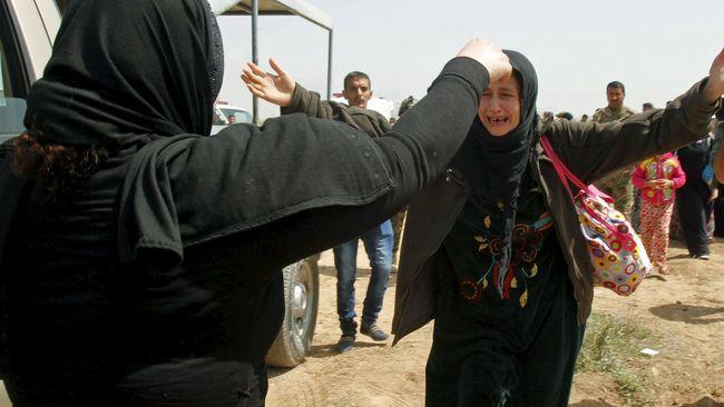 Wanita Yazidi Berhasil Melarikan Diri dari ISIS