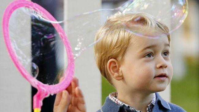 Pangeran George Mulai Masuk Sekolah September Mendatang