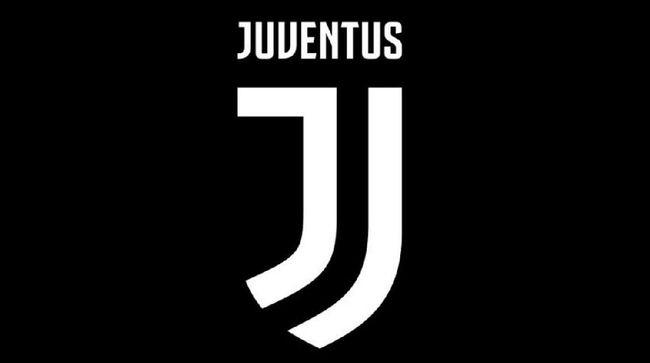 Logo baru klub Italia  Juventus  yang diluncurkan pada Senin  16 1
