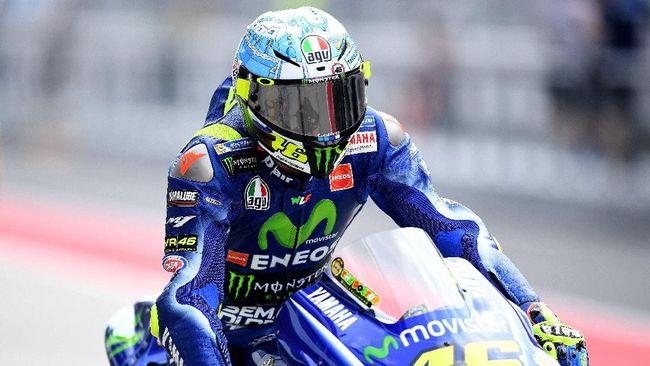 Valentino Rossi Berharap Tak Hujan di GP Qatar