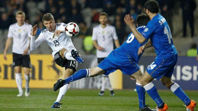 Tanpa Oezil, Jerman Pesta Gol di Kandang Azerbaijan
