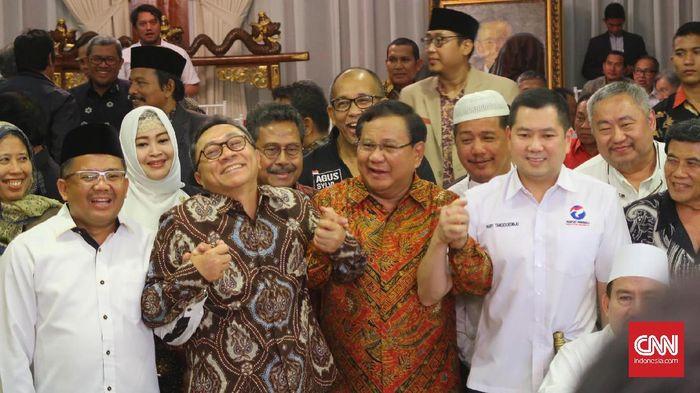 CNN Indonesia Detail: Prabowo Berniat Intensifkan Bertemu Tokoh Lintas Agama