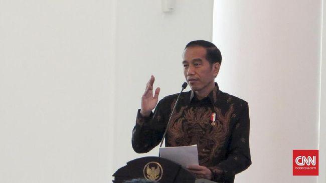 Jokowi Teken Aturan Thr Dan Gaji Ke 13 Pns