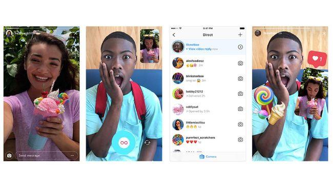 Balas Instagram Stories Kini Bisa Pakai Foto dan Video