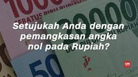 'Cuap-cuap' Soal Rencana Ubah Rp1.000 jadi Rp1