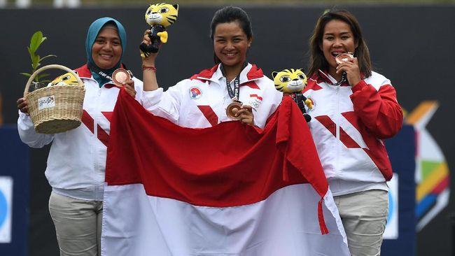 Medali SEA Games 2017: Indonesia Masih di Bawah Malaysia